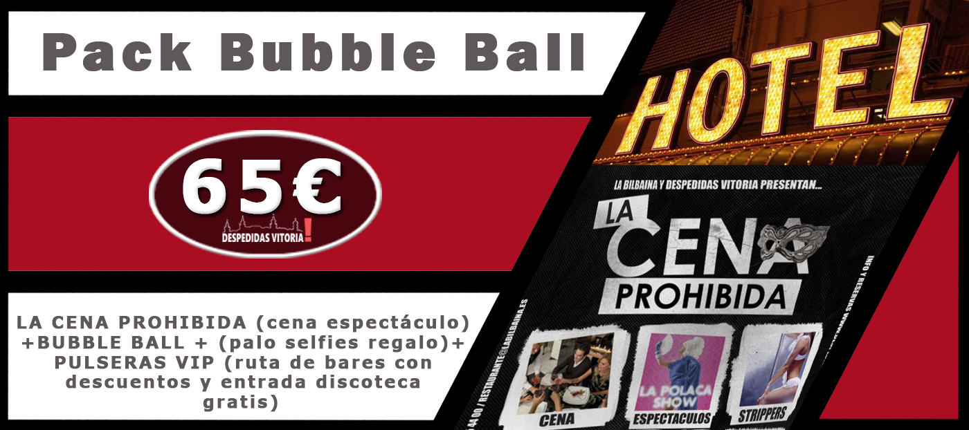 Pack Bubble ball