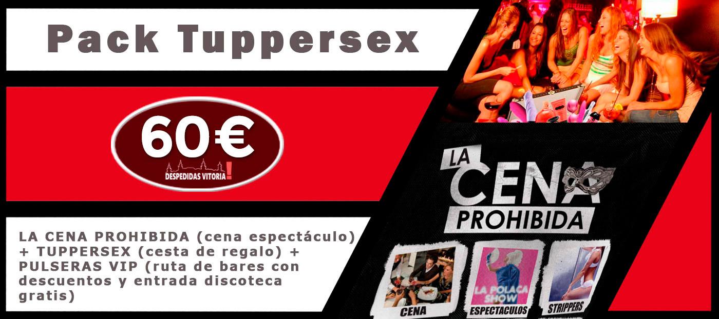 Tuppersex en vitoria - Pack Tuppersex despedidas Vitoria de solteros y de solteras. Organizadores de eventos y actividades de fiestas de despedidas en Alava.